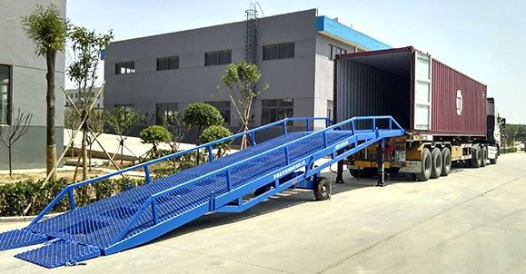 移动登车桥与大连星原化工工业公司合作案例