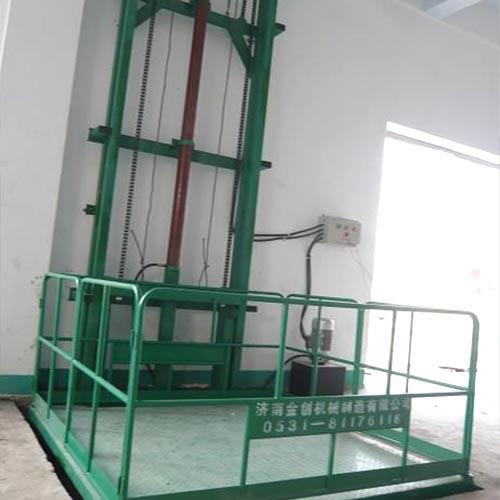 链条单体液压货梯