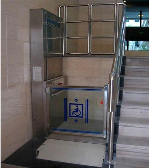 公共场所使用的残疾人升降平台