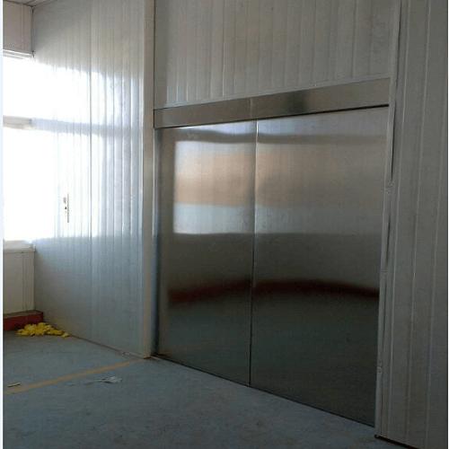 带电动门升降货梯