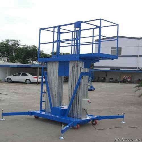 抽拉台面多柱铝合金升降货梯