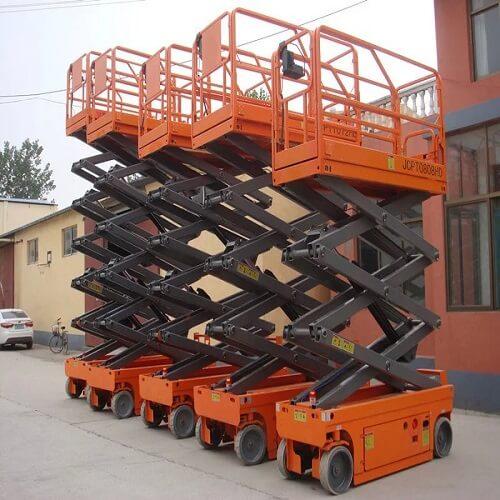 自行走式升降货梯